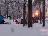 зимняя база отдыха