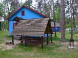 домики в лесу